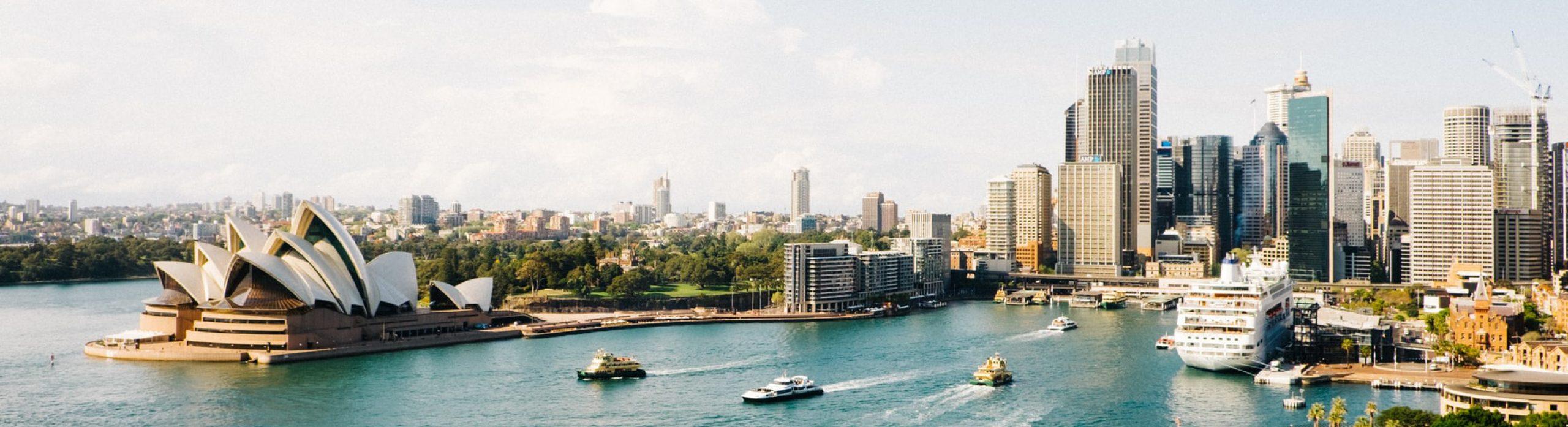Vertrek naar Australie